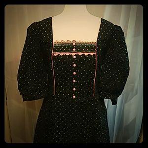 Vintage Aus Bayern Dirndl Style Plus Dress